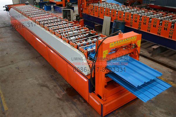 Roof Panel Sheet Forming Machine Is Widely Used In Building Steel Structure Plants Supermarket Hotels Villas Residence And D Roof Panels Paneling Roof