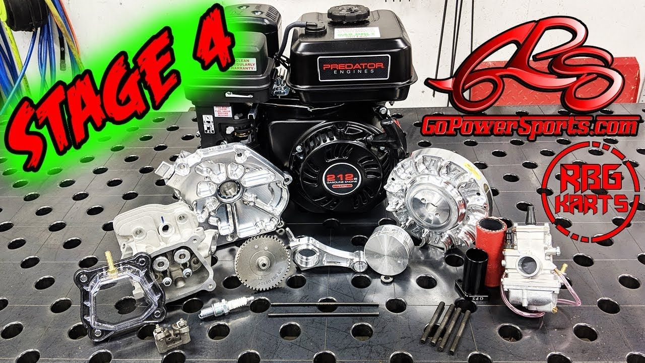 Predator 212 Stage 4 Engine Build ~ 22HP Go Kart Engine All parts
