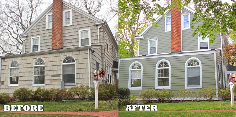 This Home Was Transformed With James Har Mountain Sage Colorplus