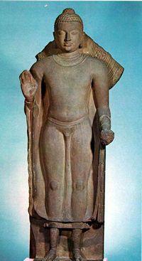 Gupta-period India c. 5th C. AD. Sandstone British Museum, London.