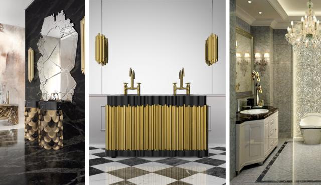 Idées déco pour une salle de bain de luxe, style déco, salles de ...