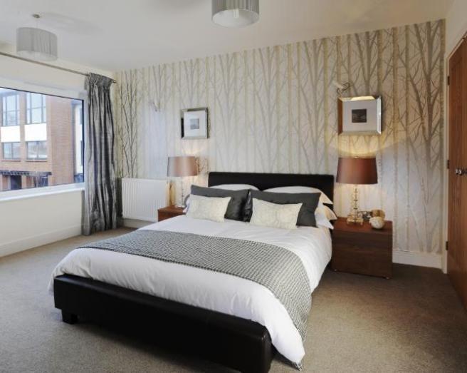 Gray beige wallpaper bedroom αναζήτηση google