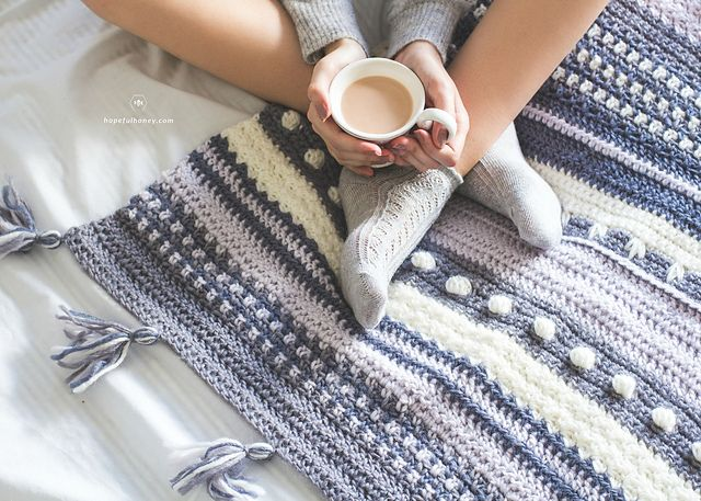 Ravelry: Winter Tempest Blanket pattern by Olivia Kent | Häkeln ...
