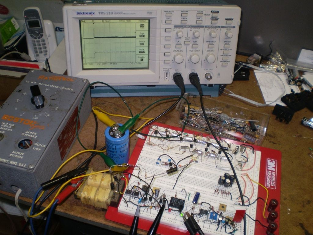 Electroschematics Website With All Kinds Of Electronics Projects Circuits 8085 Blog Archive Analog Oscilloscope Circuit
