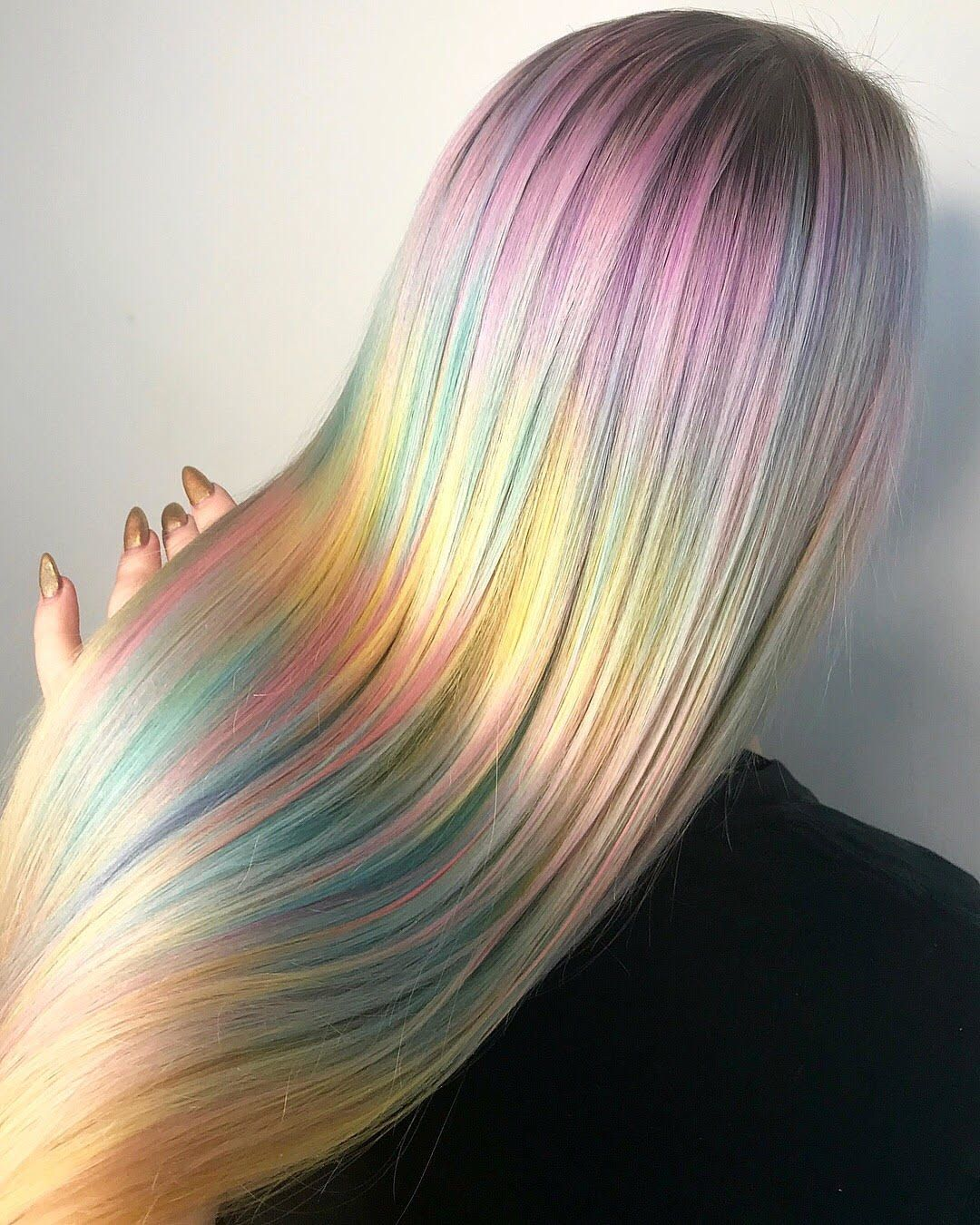 Ocean Watercolor Hair By Hair Elio Use Our Neptune Pack To Create