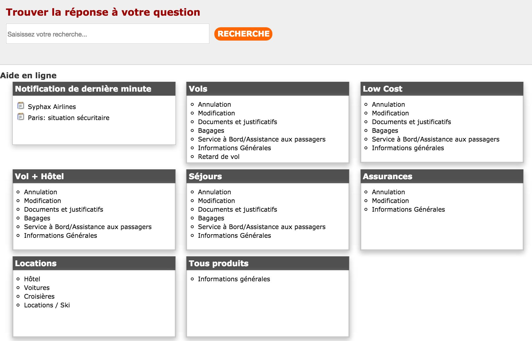 Service client Opodo France Numéro non surtaxé
