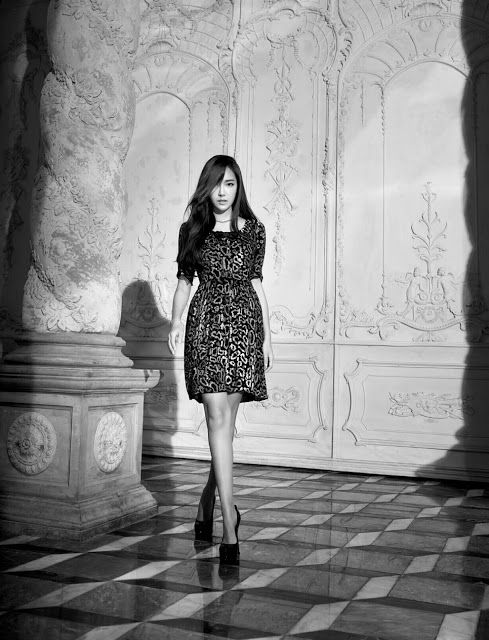 More of the gorgeous Jessica Jung for L'officiel's December issue