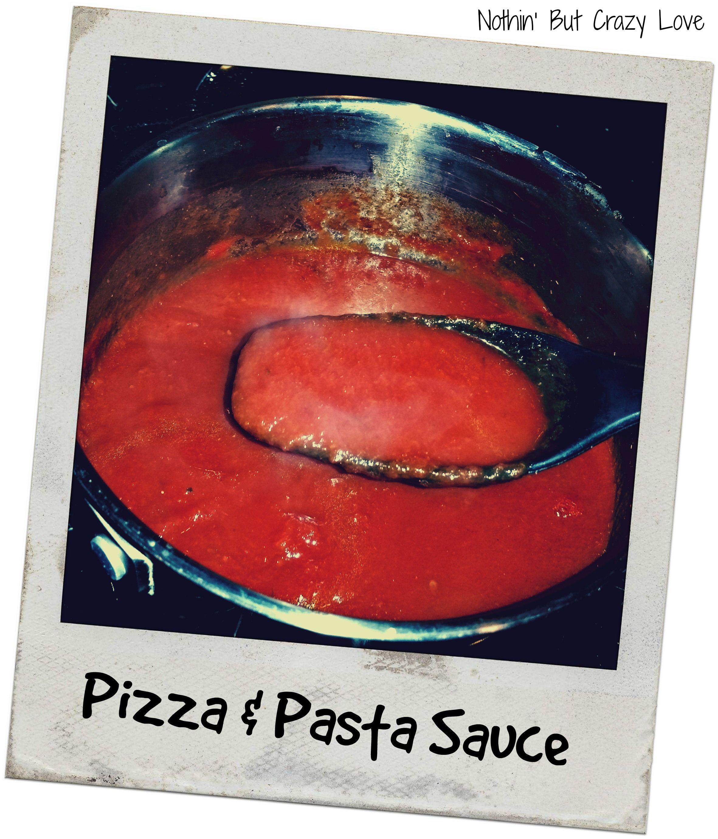 Menu Mondays Crockpot Spaghetti And Pizza Sauce