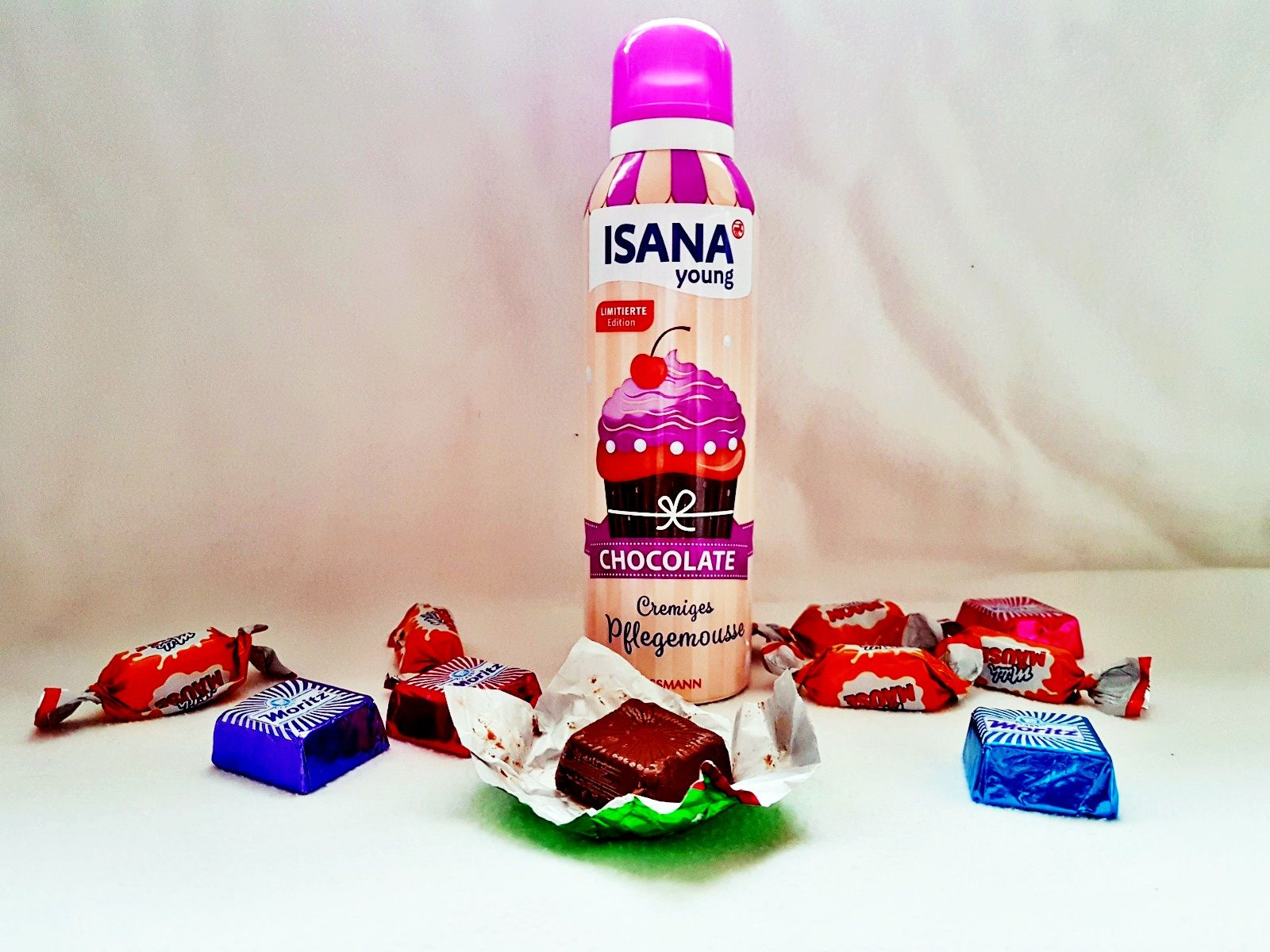 Isana Cremiges Pflegemousse Chocolate