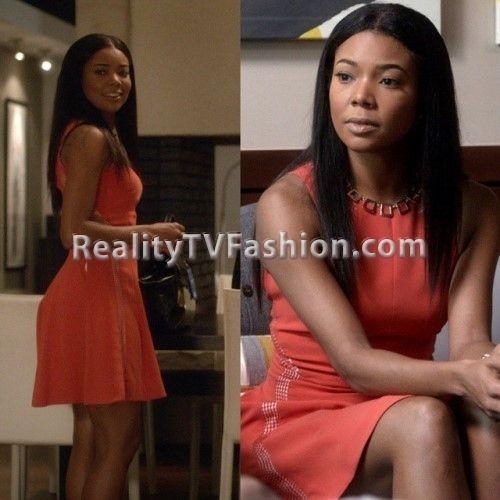 #BeingMaryJane's Orange Dress on Season Finale   Best of ...