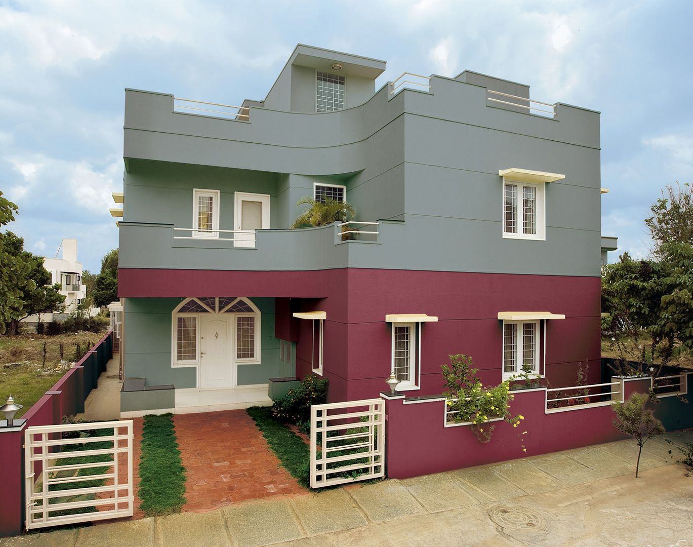 Asian paints apex ultima with colour stay image gallery - Colours for exterior house painting ...