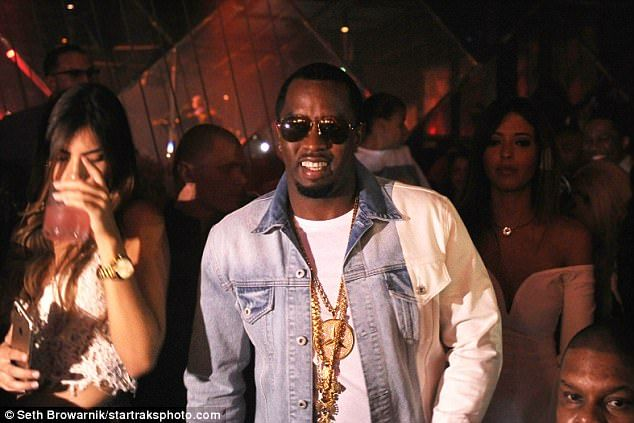 Sean Combs Hangs Out With Joey Badass And Dj Clue In Miami Sean