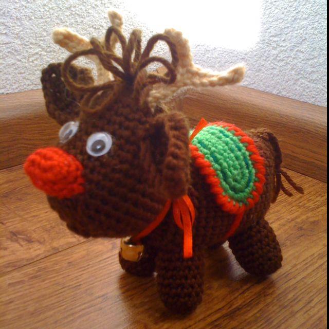 Echt Hema Rudolf Amigurumi Handmade By Chantal Haken Crochet