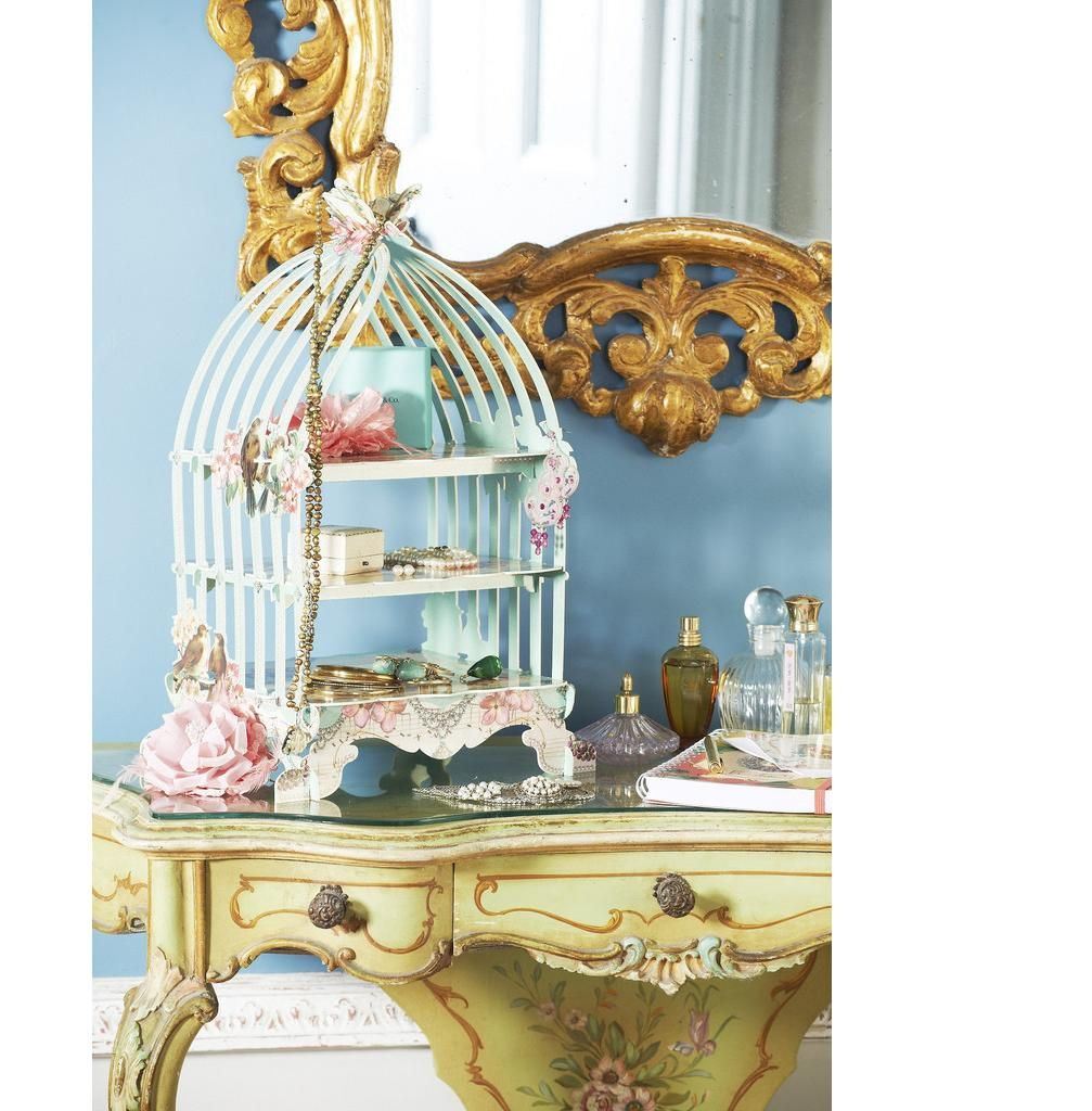 Bird cage for cupcakes by talking tables vintage cake