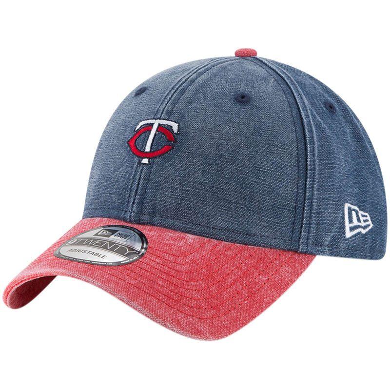 best service 4088a e2149 Minnesota Twins New Era Rugged 9TWENTY Adjustable Hat - Navy