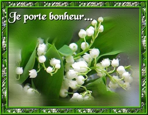 carte muguet 1er mai Pin on Vive la France!