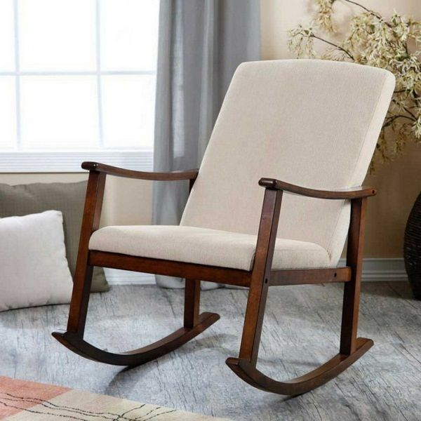 Creer Une Zone De Loisirs Chic Avec Chaise Bercante Idees De Decoration Chambre Rocking Chair Rocking Chair Cushions Outdoor Rocking Chair Cushions