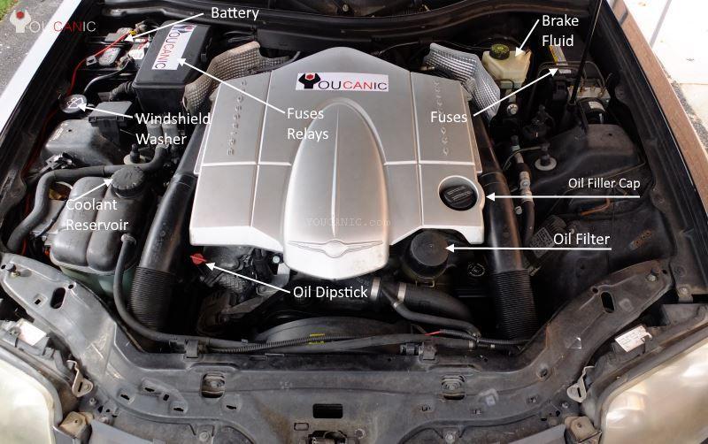 Chrysler Crossfire Oil Change Instructions Avec Images