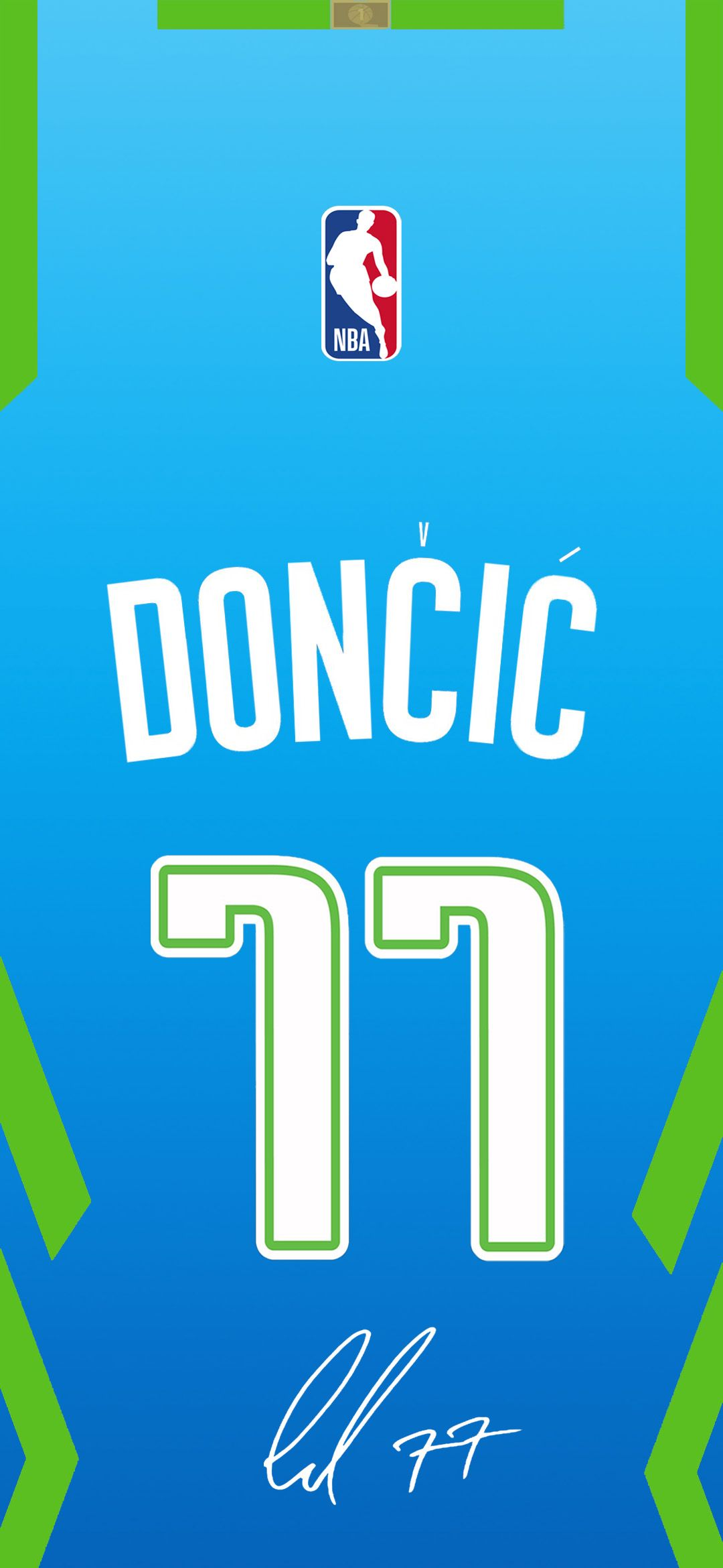 Doncic City Edition Kit Phone Wallpaper In 2020 Mavericks Basketball Basketball Wallpaper Nba Wallpapers