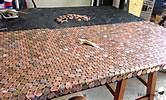 penny covered table - Yahoo Image Search Results