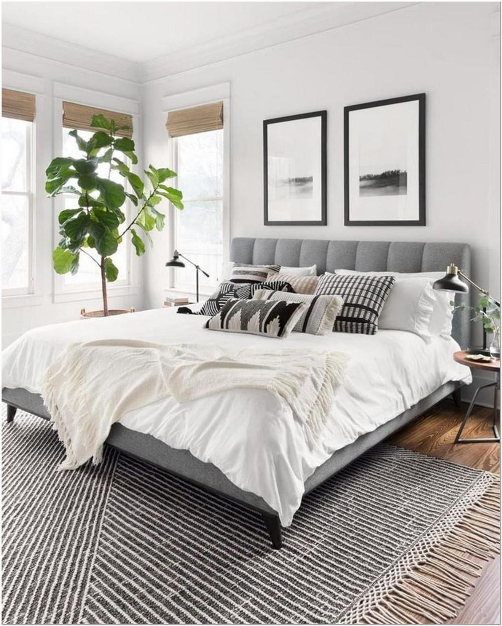 85 Modern Tiny Bedroom With Black And White Designs Ideas For Small Spaces 20 In 2020 Home Decor Bedroom Modern Master Bedroom Master Bedrooms Decor