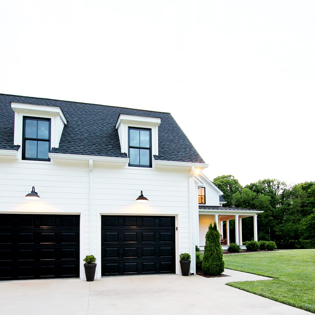 How Much Does It Cost To Build A Garage Find Out In This Article Garage Garagedoors Farmhouse Garage Door Design Garage Doors Garage Exterior