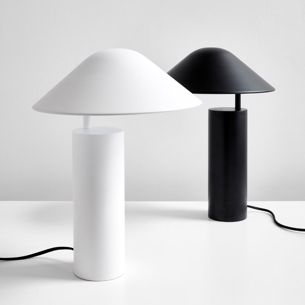 Enoki White Table Lamp In 2020 Black Table Lamps White Table