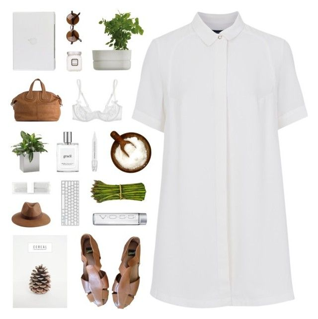 Golden Days by discxnnect-ed on Polyvore featuring French Connection, Agent Provocateur, Givenchy, Reiss, philosophy, Laura Mercier, Forever New, Sephora Collection, Rig-Tig by Stelton and Jan Kurtz