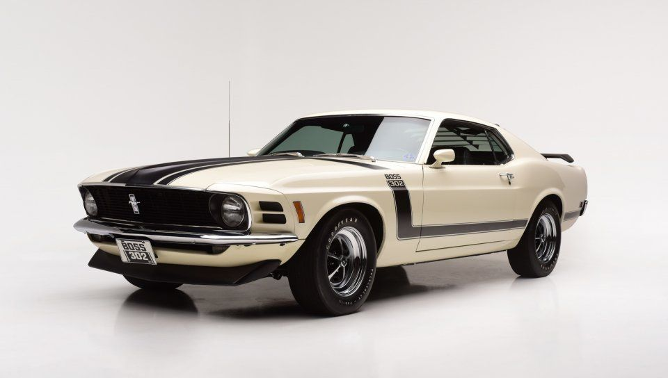 1970 Ford Mustang Boss 302 Sports Lines Front Wallpaper Di 2020