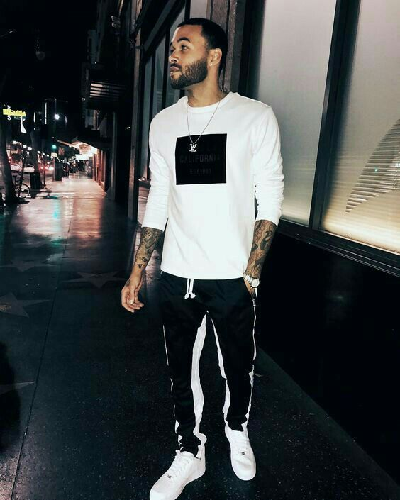 Pin de Style for men em looks with trackpants ideias