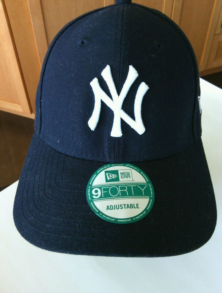 ccf5d82a3fd NY Yankees MBL Baseball Cap Adjustable New York New Era Hat 9Forty Fit Navy  USA