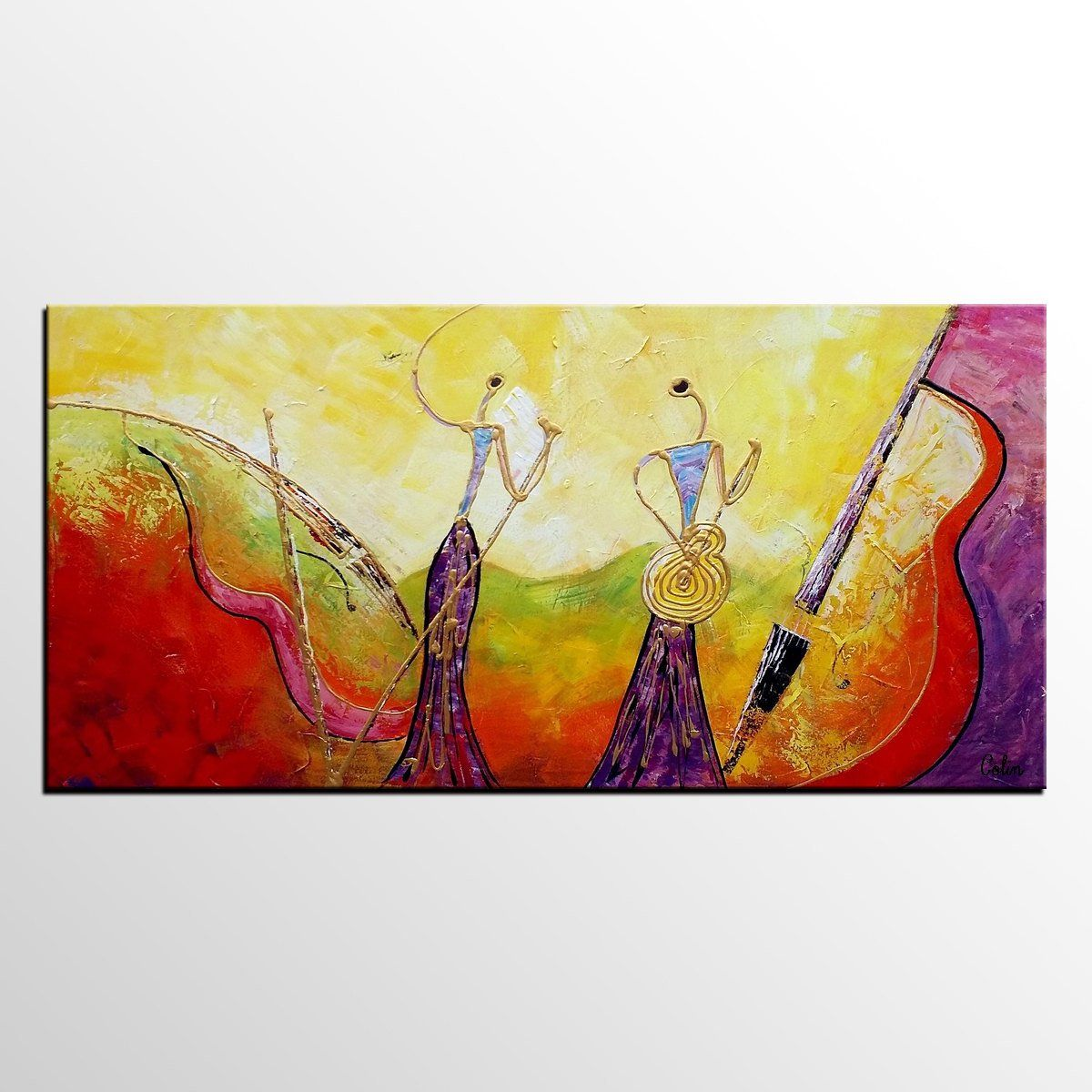 Pop Singer Music Art, Canvas Wall Art, Abstract Art Painting ...