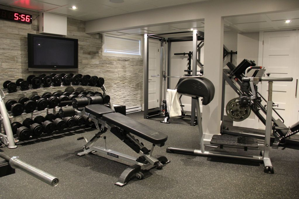 500 Sf Home Workout Gym