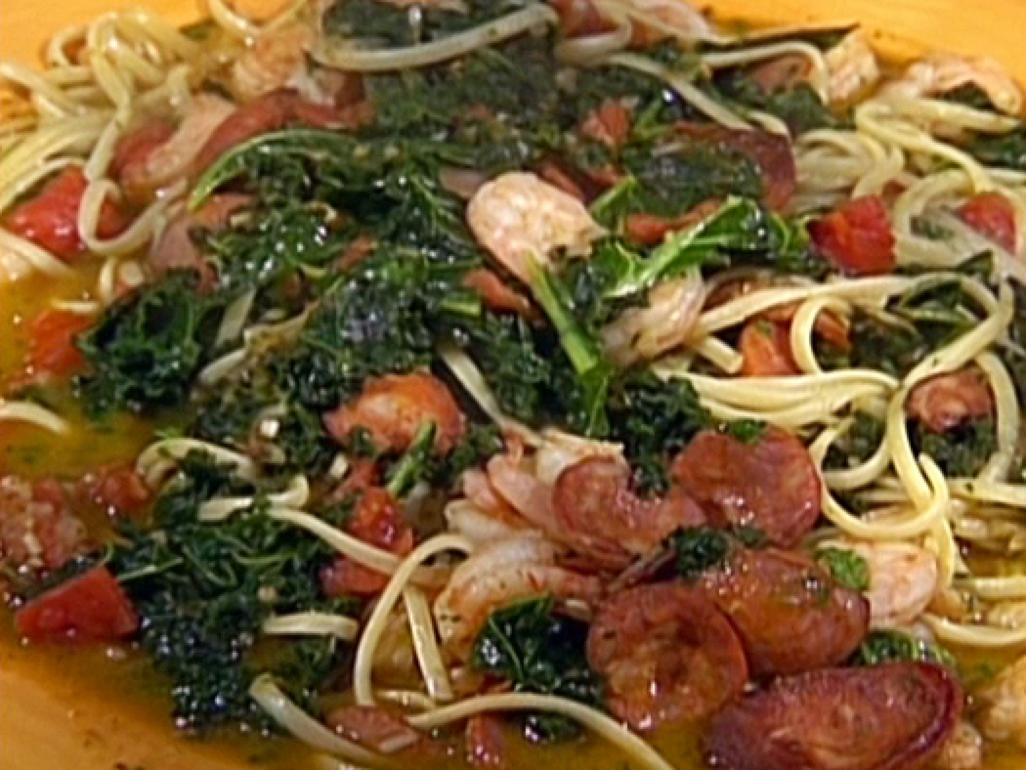 Shrimp And Kale Pasta Recipes Food Network