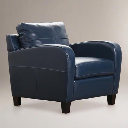 Love This Chair: World Market Mallard Mason Bi Cast Leather Chair