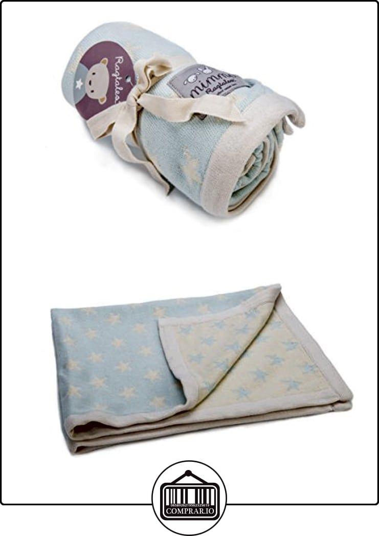 Ragtales-Mimmo Star manta (azul/crema)  ✿ Regalos para recién nacidos - Bebes ✿ ▬► Ver oferta: http://comprar.io/goto/B01DNMF7N6