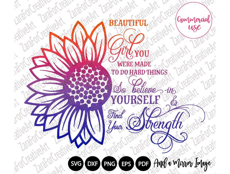 Download Beautiful Girl svg sublimation design ,You were made to do ...