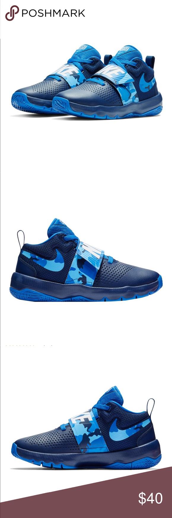 NEW Nike Kids Team Hustle D8 Camo