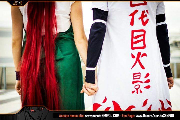Kushina & Minato Cosplay