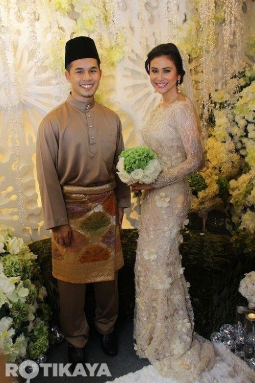 Gorgeous Wedding Dress Engagement Dress Malaysian Gaun Perkawinan Gaun Pengiring Pengantin Gaun
