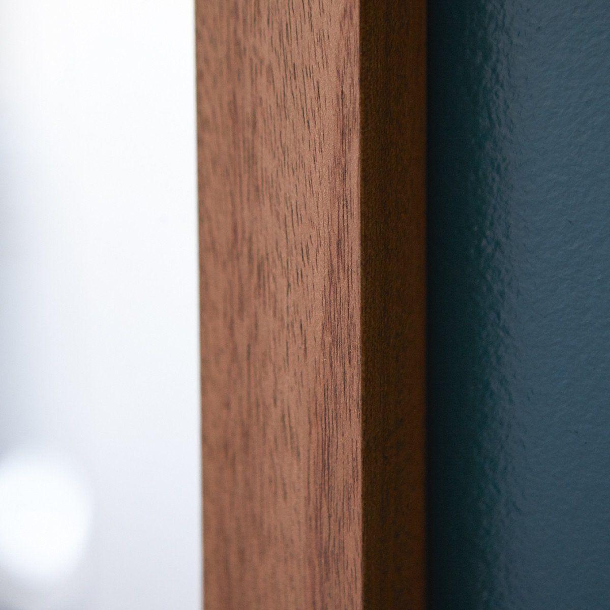Miroir En Bois D Acajou 70x50 Loggia Taille Taille Unique