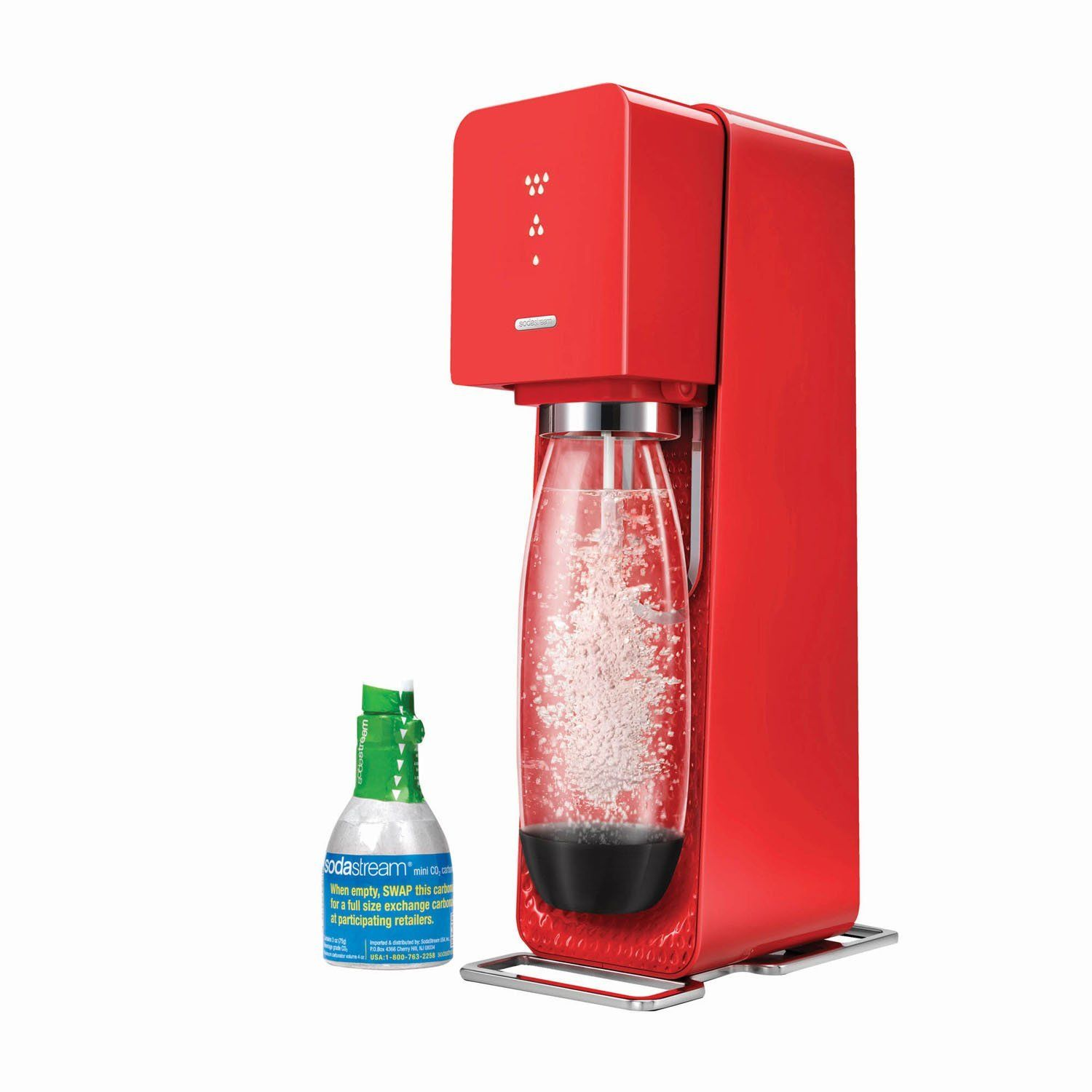 Sodastream Source Home Soda Maker Starter Kit Red This Is An Amazon Affiliate Link Check Out This Great Product Soda Makers Soda Stream Best Soda