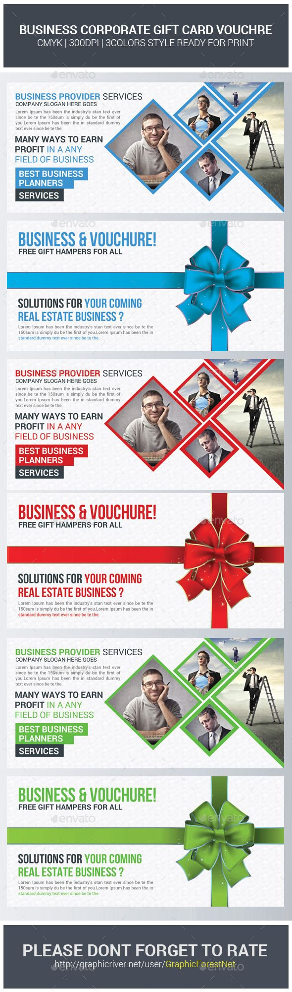 Corporate Business Gift Voucher Template | Corporate business ...