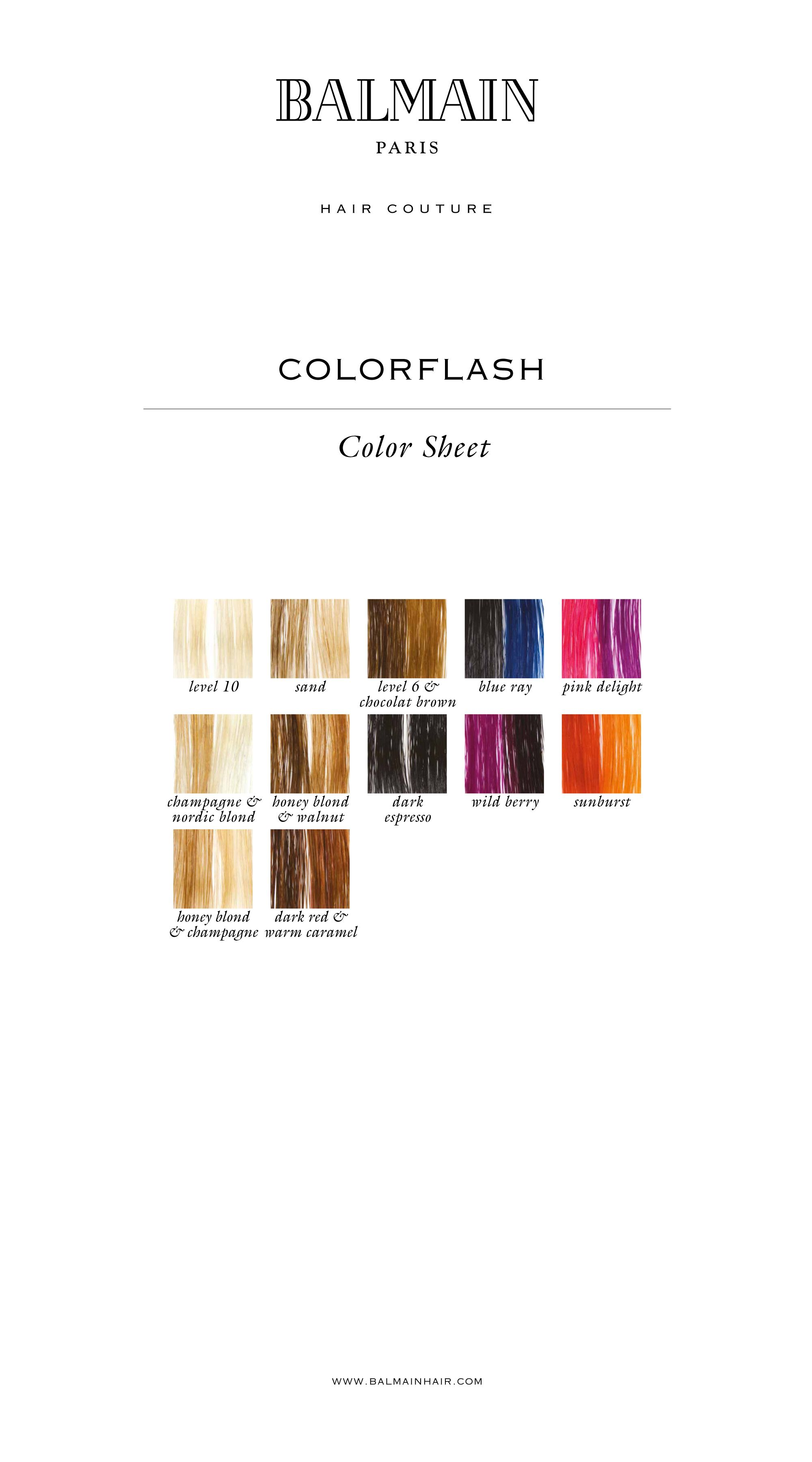 Balmain color overview colorflash hair color charts pinterest balmain color overview colorflash nvjuhfo Image collections