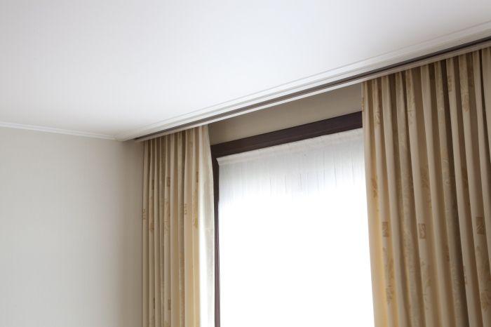 www.artenova-construct.be Verlaagd plafond en gordijnbak | Project ...