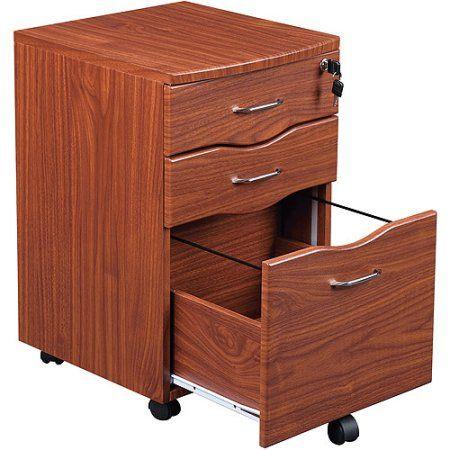 Tribeka Rolling File Cabinet Walmart Com Filing Cabinet Metal Filing Cabinet Wooden File Cabinet