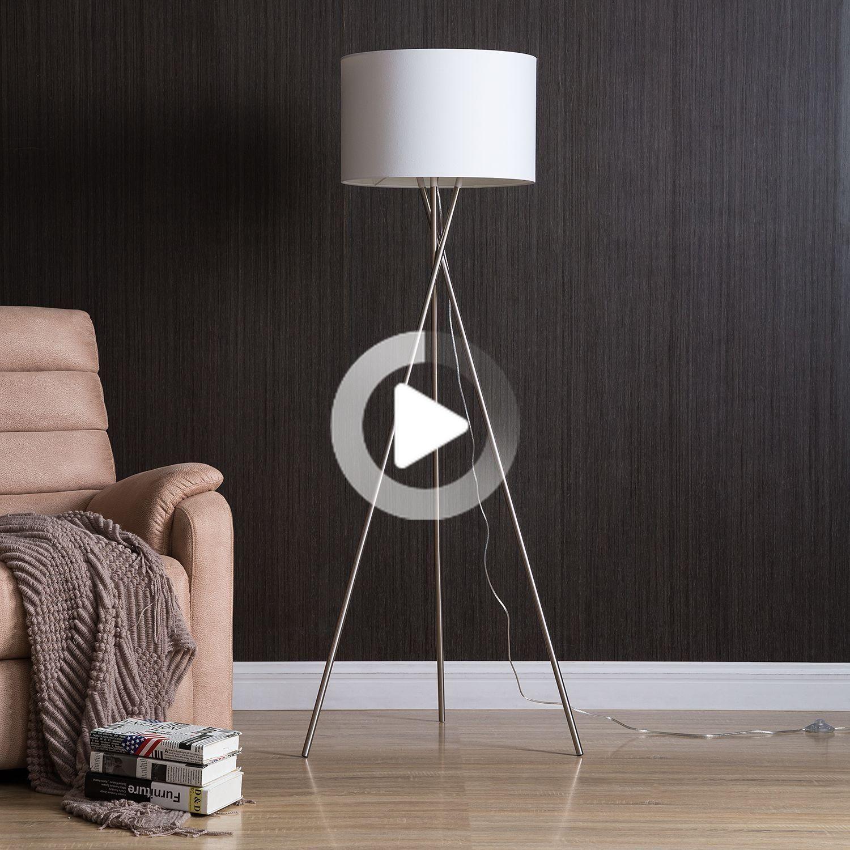 Tripod Floor Lamp Stylt In 2020 Home24 Blumen Bein Tattoos Stehen