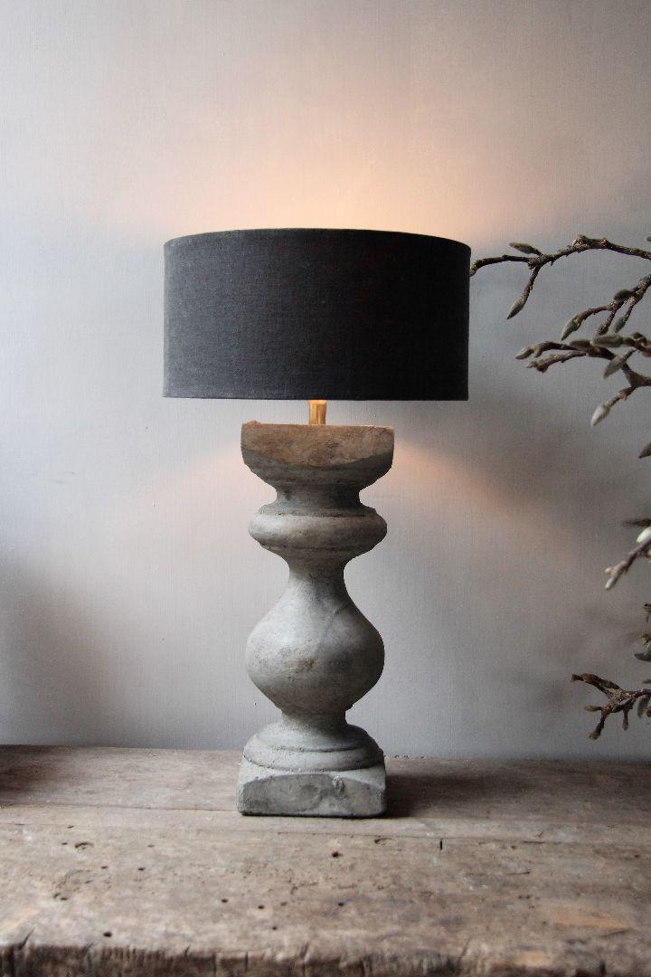 Betonnen balusterlamp | Ideeën voor thuisdecoratie