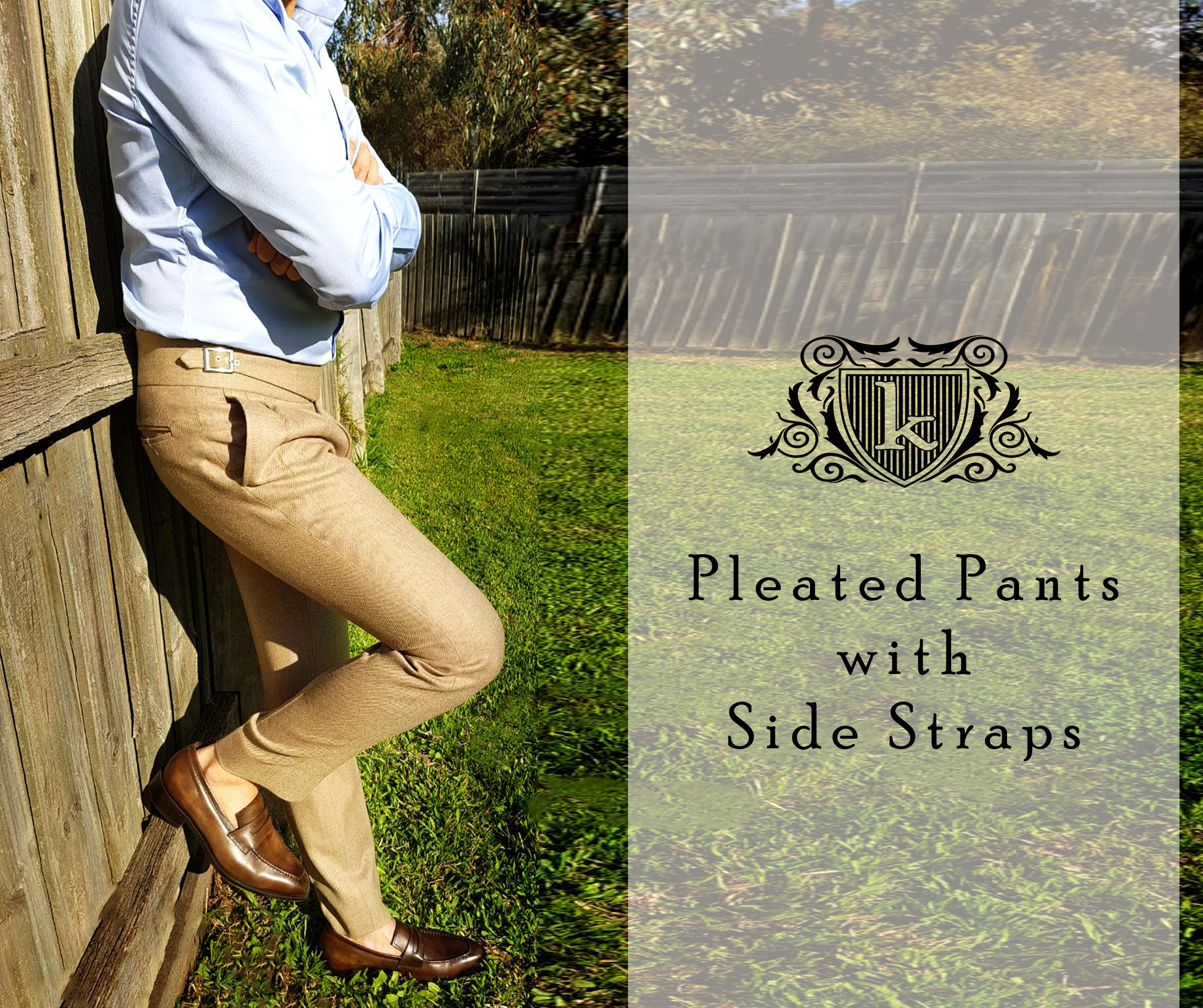Pleated Trouser Pants Woolen Pant Loafers Melbourne Fashion Classy
