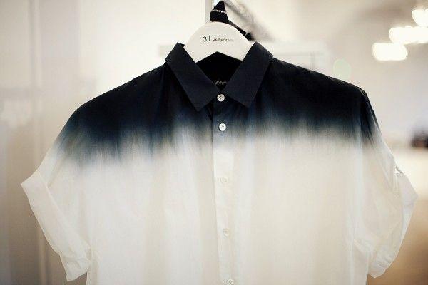 5 Household Products That Can Revamp A Tired Wardrobe Diy Fashion Dip Dye Shirt Tie Dye Diy
